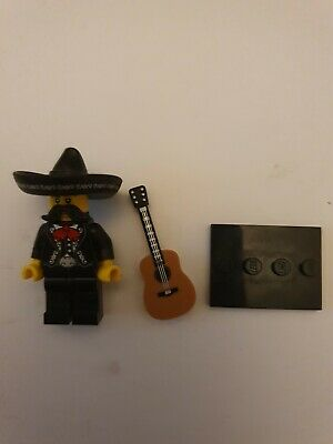 $ CDN8.75 • Buy Toy Lego Figure Mariachi Mexican Guitar And Sombrero Played With
