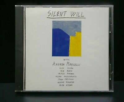 £27.95 • Buy ANDREA MARCELLI Silent Will CD UNPLAYED ALLAN HOLDSWORTH MIKE STERN 1991