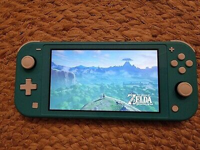 AU180 • Buy Teal Nintendo Switch Lite 32GB.