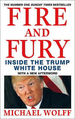AU26.59 • Buy BOOK NEW Fire And Fury By Michael Wolff (2018)