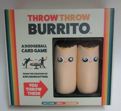 AU19.51 • Buy Throw Throw Burrito By Exploding Kittens - A Dodgeball Card Game - *New*