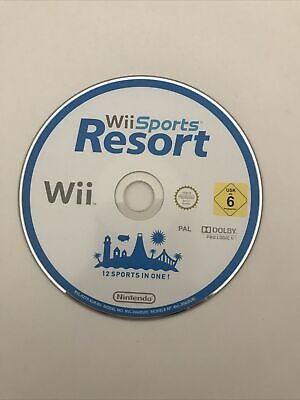 Wii Sports Resort (Nintendo Wii, 2009) Disc Only Fully Tested Working • 9.99£