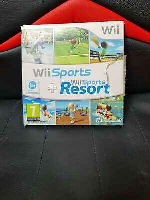 Wii Sports And Wii Sports Resort Game • 18£
