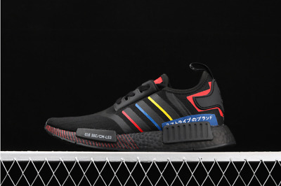 $ CDN129.64 • Buy Adidas Originals Mens NMD_R1 Boost Shoes Black/Blue/Red FY1434 UK 6.5 To 11.5