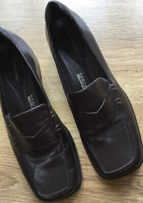Rockport Comfort By DMX Womens Size 6 1/2 M Shoes Brown Leather • 5£