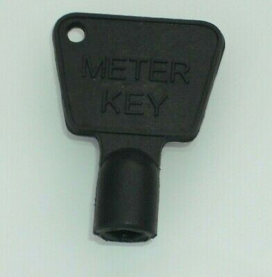 Service Utility Meter Key Gas Electric Box Cupboard Cabinet Triangle Reading Diy • 0.99£