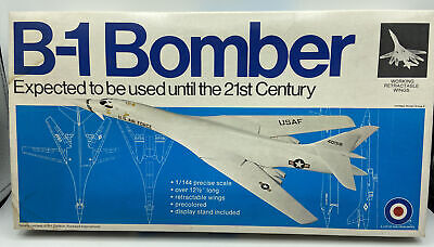 $28.50 • Buy Entex B-1 Bomber Model Kit With Retractable Wings #8505 1:144 Scale New/Open Box