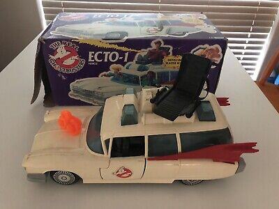 AU349.95 • Buy The Real Ghostbusters Ecto-1 With Box, Ghost & Stickers 1986 Vintage Great Cond