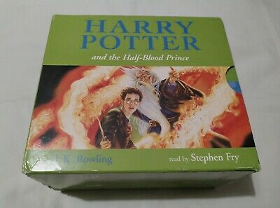 Harry Potter And The Half Blood Prince - Audio Book CD - Stephen Fry JK Rowling • 29.99£
