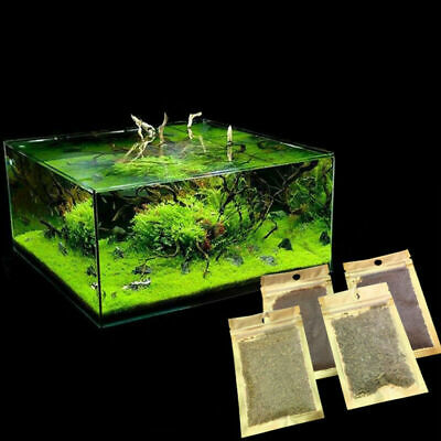 Aquarium Plant Seeds 8g/bag Fish Tank Aquatic Water Grass Foreground Easy Plant • 1.01£