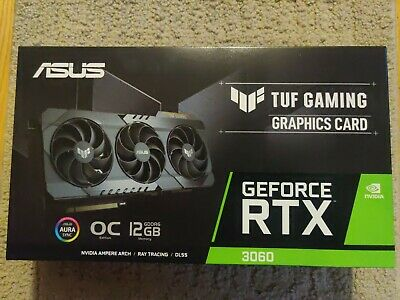 $ CDN1506.41 • Buy ASUS Tuf Gaming Nvidia GeForce RTX 3060 OC EDITION 12GB Graphics Card- Ships Now