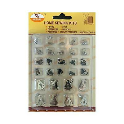 £3.99 • Buy Trousers Skirts Hook And Bars With Eyes Sew On Clothing Repair DIY Work UK