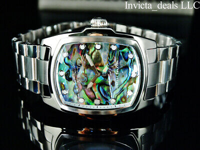 $ CDN102.77 • Buy Invicta Men's 47mm GRAND LUPAH ABALONE DIAL Silver Tone Special Edition SS Watch
