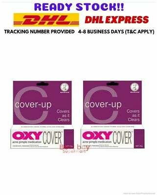 £142.78 • Buy (20x25g) OXY Cover For Stubborn Acne Pimple Medication 10% Benzoyl Peroxide -DHL