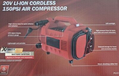 AU69 • Buy Workzone Xfinity 20v Compatible Air Compressor Tyre Inflator Pump Skin Only NEW