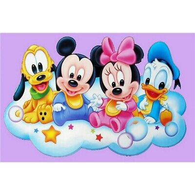 £7.29 • Buy Full Drill 5D Diamond Painting Cross Stitch Mickey Mouse Mosaic Embroidery Art