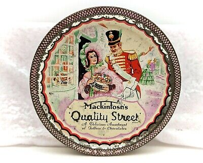 Vintage Advertising Confectionery/Sweet Tin-Quality Street-Classic 1960s Design • 15.99£