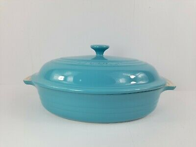 £64.99 • Buy LE CREUSET Stoneware Oval Casserole Dish With Lid NEW