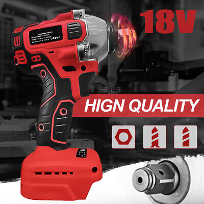 £18.99 • Buy Cordless Impact Wrench 1/2  Brushless Driver Torque Replace For Makita Battery