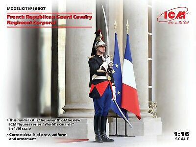 £19.99 • Buy ICM 1/16 Scale French Republican Guard Cavalry Corporal - Figure Kit