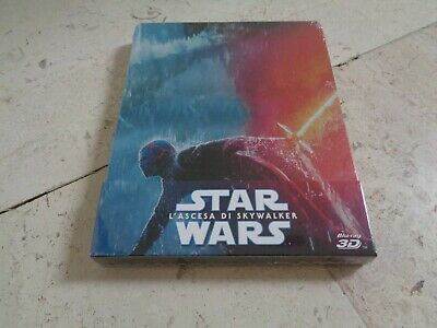 AU77.36 • Buy STAR WARS THE RISE OF SKYWALKER *NEW* 3D Blu-Ray & Blu-ray SteelBook 1/4 Slip
