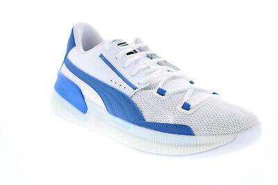 AU68.25 • Buy Puma Clyde Hardwood Team 19445405 Mens White Athletic Basketball Shoes