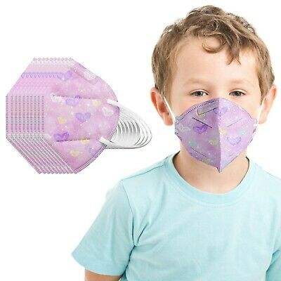 AU16.43 • Buy 2-10 Years Old Baby Kids Mouth Masks KF94 3D Protective Mask For Children Home