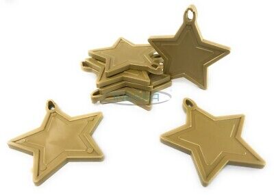 £3.79 • Buy INERRA® Gold Star Balloon Weights For Helium Balloons - Pack Size Options