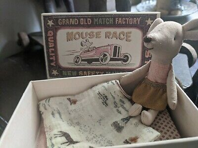 £22 • Buy Maileg Little Sister Mouse In Matchbox