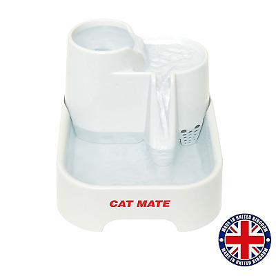 £25.99 • Buy CAT MATE 2L Drinking Water Fountain For Cats & Small Dogs