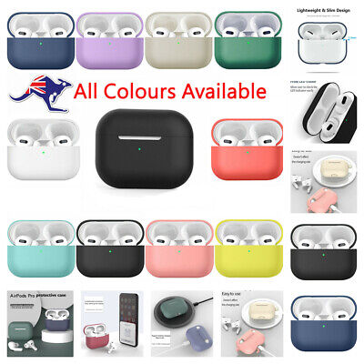 AU5.55 • Buy Apple Airpods 3 Pro Case Soft Silicone Slim Shockproof Protective Cover Case