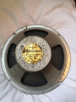 £180 • Buy Marshall Vintage 10  Speaker Driver 16 Ohm Dated C 1965-1967. Working. #7442