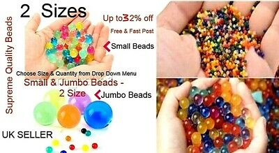 AU8.75 • Buy 10000 Orbeez  Jumbo Water Crystal Multi Decor Gift Gel Vase Beads Uk Seller Fast