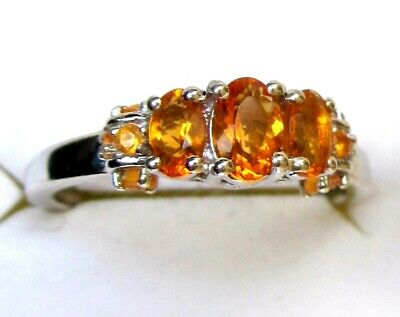 £25.17 • Buy Mexican Fire Opal Ring / Size 11 / 925 Sterling, 0.77ct