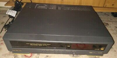 AU99 • Buy Hitachi VHS Player PAL/NTSC, In-built Head Cleaning System.