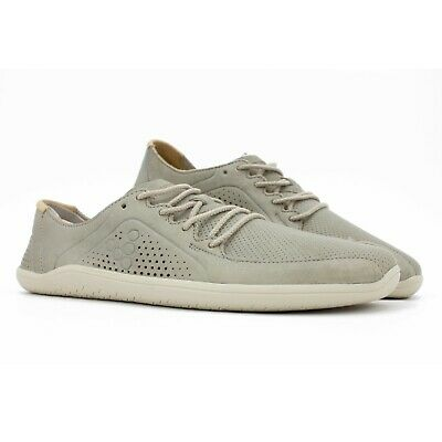 £98.41 • Buy NEW Vivobarefoot Primus Lux - Mens Grey Leather Barefoot Walking Running Shoes