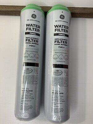 $ CDN62.60 • Buy 2 GE Replacement Water Filters FQK2J Advanced Filtration Carbon Block OEM NEW