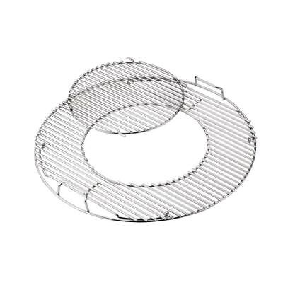 $ CDN69.22 • Buy Hinged Grill Cooking Grate Replacement Removable Center 22-1/2  Charcoal Grills