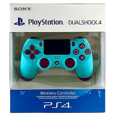 AU99.95 • Buy GENUINE PS4 Controller BERRY BLUE Wireless Dual Shock 4 V2 - PlayStation 4