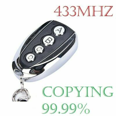 £4.95 • Buy Home Cloning Electric Gate Garage Door Remote Control Key Fob 433mhz Cloner A++