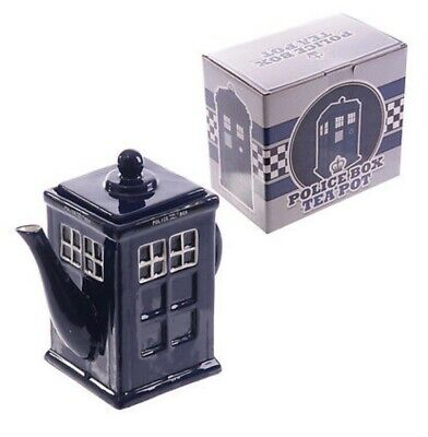 £14.50 • Buy Novelty Police Box Shaped Ceramic Teapot - Tardis Great Gift For Dr Who Fans