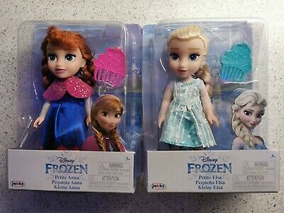 £30.99 • Buy Disney Frozen Petite Anna & Elsa Toddler Dolls, New In Boxes. Come Play With Me.