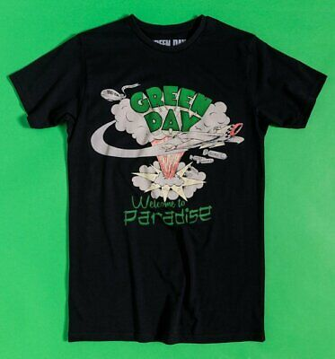 £19.99 • Buy Official Black Green Day Welcome To Paradise T-Shirt
