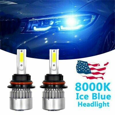 $19.99 • Buy 9007 8000K LED Headlight Bulbs Hi-Lo Ice Blue For FORD Crown Victoria 1998-2011
