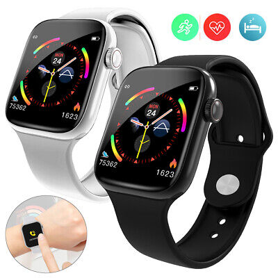 AU36.35 • Buy Heart Rate Monitor Smart Watch Men Women Call Message Reminder For Smartphones
