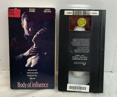 $ CDN21.40 • Buy Body Of Influence (vhs, 1993) Erotic Thriller - Shannon Whirry Nick Cassavettes