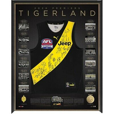 AU2495 • Buy Signed Richmond 2020 Premiership Jersey Offical Limited To 250. COA Supplied