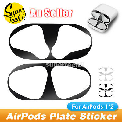 AU4.95 • Buy Metal Film Sticker Dust Guard Iron Shavings Protective Cover For AirPods 1/2