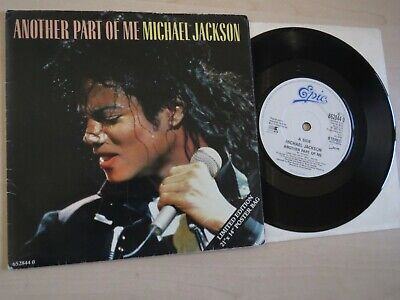 £12 • Buy MICHAEL JACKSON - Another Part Of Me - 7  In Poster Bag Sleeve, Limited Edition
