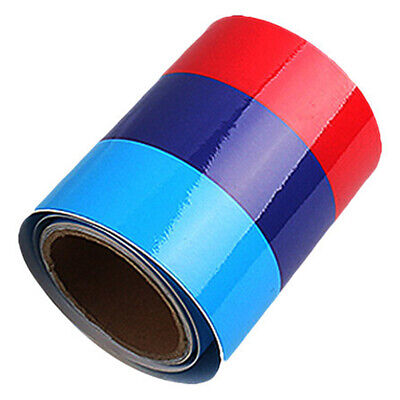 $7.73 • Buy USA 5FT M-Colored Stripe Sticker Car Vinyl Decal For BMW M3 M4 M5 M6 HOT SALE